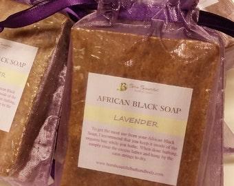 African Black Soap, Lavender