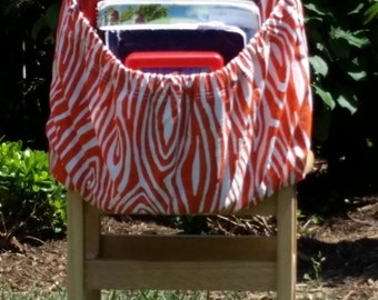 Orange WILLOW ChEvRoN // Chair Pockets // Teacher Classroom Organization <<16 inch PREMIUM>> Seat Sacks // End of Year Sale CoffeeKidsNDolls