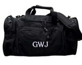 Personalized Duffle Carry On Luggage Men Sport Bag Groomsmen Gifts