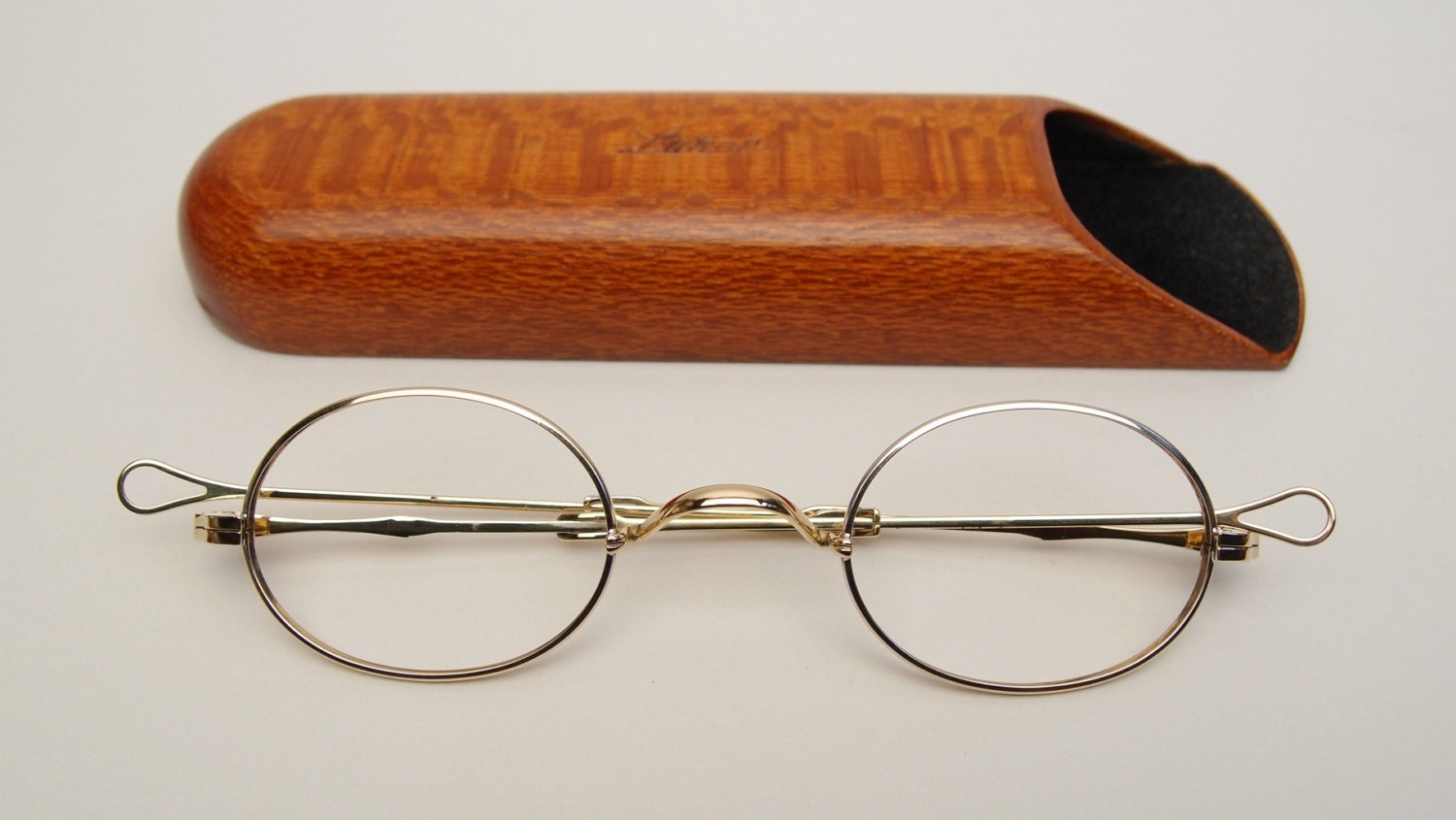 Glasses Frames Saddle Bridge : Vintage Lunor I Eyeglasses Frames Germany Made Optical Eyewear