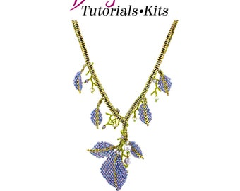 Falling Leaves Beadweaving Tutorials and Patterns