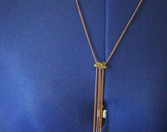 Copper Cascade necklace