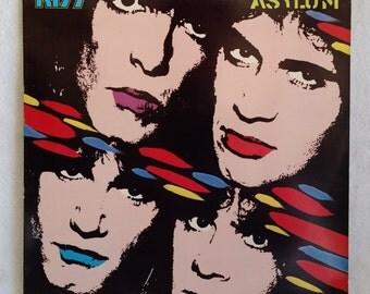 Kiss Record - Asylum - 1985 Vintage Vinyl LP