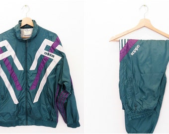 ADIDAS ORIGINALS vintage tracksuit size 44/46 or US L