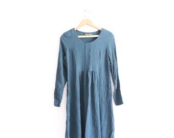 Gingham Grunge 90s Mini Dress