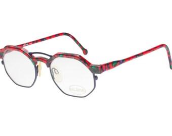 octagon eyeglasses etsy