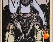 Krampus Tarot Card Candle...