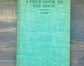 First Edition Peterson A Field Guide to the Ferns