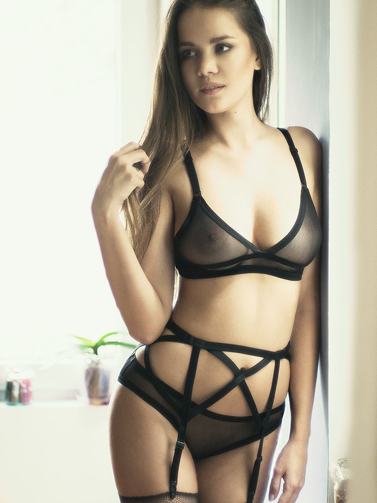 pics through lingerie see