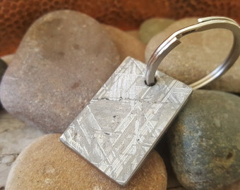 Nerdy gifts for him - Meteorite Keychain