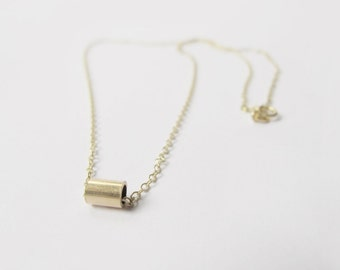 9ct Solid Gold Necklace | Minimal Necklace | Simple Gold Necklace | Delicate Necklace | 9ct Gold Necklace |