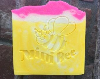 PLUMERIA Shea Butter Soap, Handmade Soap, Cold Process Soap, Moisturizing