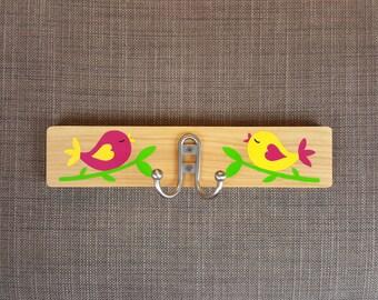 Kids Wall Hook Birds