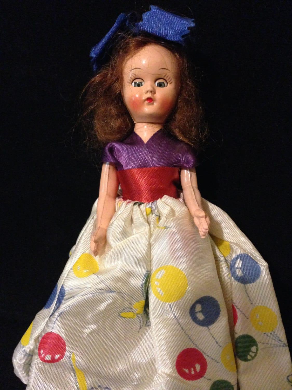 Vintage Nancy Ann Storybook Doll 1950s Birthday Party Doll