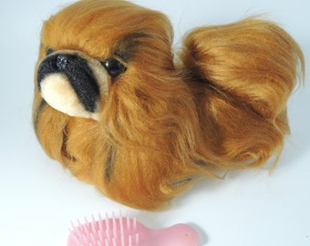 70's Japanese Retro/Vintage Toy, Chow Chow Dog