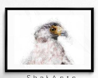 Modern Minimal Print, Minimalistic Gifts, Minimalistic, Minimal Print Art, Minimal Animal, Poster Minimalist, Modern Minimalism, Eagle Print