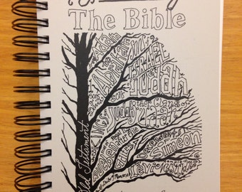 Sketching The Bible: The Old Testament (A Graphic Journal)