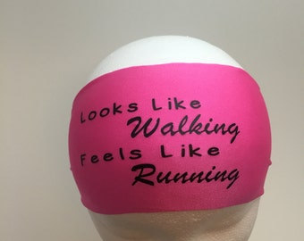 Running Headband ~Yoga Headband~ Workout Headband Looks like walking