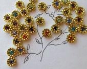 8 Colors! Assorted Swarovski  Mini  Crowns