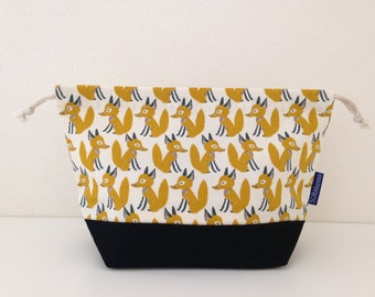 Bento bag, clever fox, lunch bag, bento box, gift set, bento set, pack your lunch, food,  snack bag