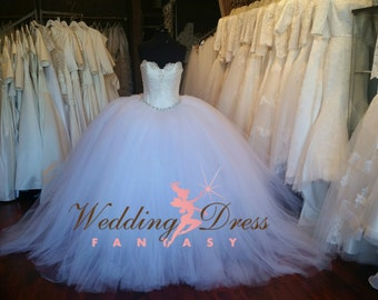 Gypsy Wedding Dress Custom Made