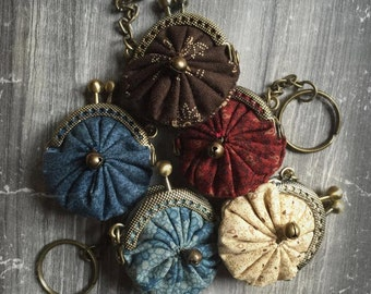 keyrings/mini Keychain clutch purses
