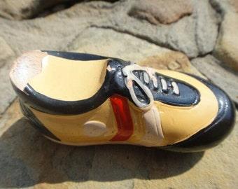 Vintage old shoe pencil sharpener vintage shoe