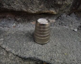 Vintage Sewing Thimble