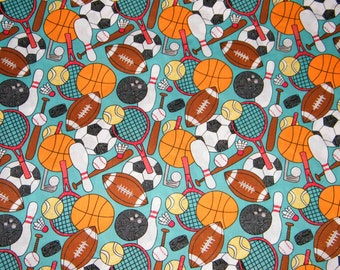 Sports Quilting Fabric Etsy