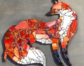 Custom Fox Mosaic for Sherry