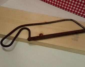 Vintage Steel Hacksaw, Vintage Tool, Mancave Decor, Vintage Industrial, Vintage Handsaw, Gift Giving