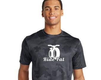 "Ride Fat Bike T-Shirts   100% Polyester ""Dry Fit""   Men & Women Styles"