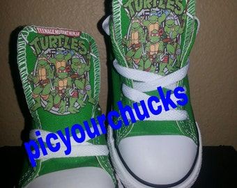 Toddlers/Kids TMNT Converse