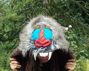 Bespoke Animal Hood, Animal Costume *MADE TO ORDER*