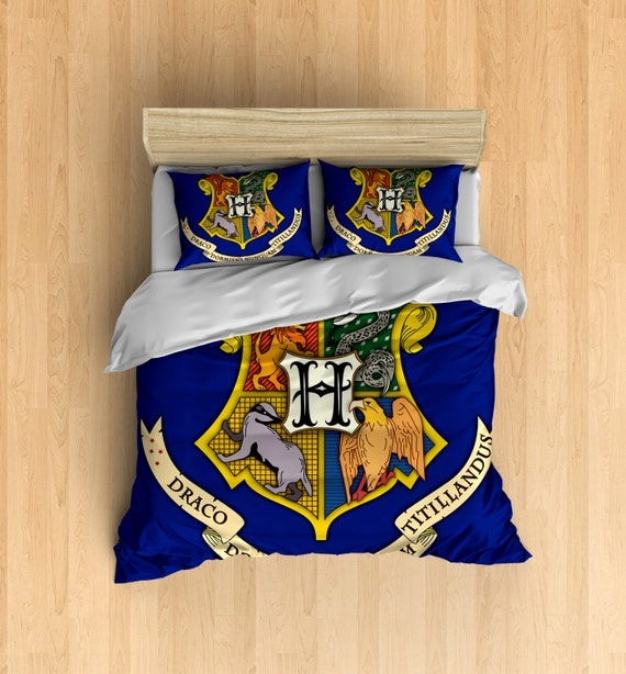 House Teams Bedding Set Inspired By Harry Potter By