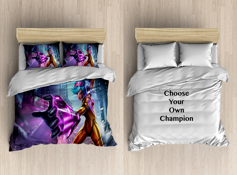 Custom League Of Legends Bedding League Of Legends Duvet