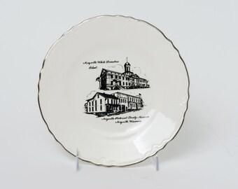 Mayville, Wisconsin Vintage Souvenir Plate