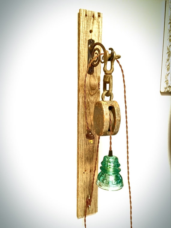 Rustic Wall Reading Lights : Rustic wall sconce pendant reading light