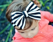 Baby Headband - Baby Headwrap - Baby Turban Headband - Baby Bow Headband - Jersey Knit Headband - Girls Headband - Toddler Headband