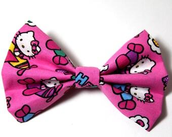 Hello Kitty Girls Hair Bow Cute Kawaii Style Accessory