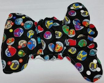 Pokemon Fitted, AIO or Pocket Diaper