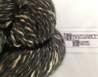 Recycled Wool/Cotton Tweed Yarn, Reclaimed 4-ply DK Weight Yarn, 1,586 yds available @ 0.03/yd