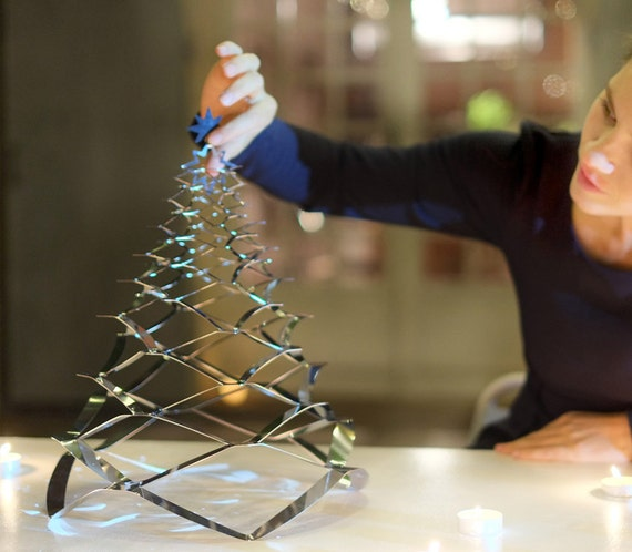 GRANN small model - the tree of deployable Christmas stainless - 33cm