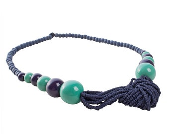 Tulsi Seed Necklace