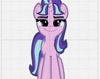 Starlight Glimmer Pony Embroidery Design