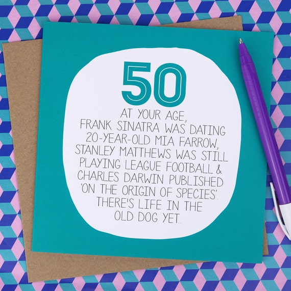 50 geburtstagskarte auf ihr alter lustige 50 geburtstag. Black Bedroom Furniture Sets. Home Design Ideas