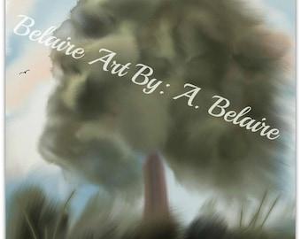 Summer Wind Digital Painting