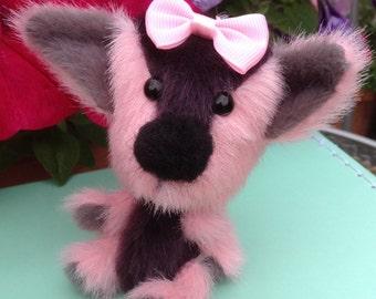 OOAK, miniature, artist bear/ puppy, Botany Bears