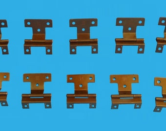 30 pieces of nl co cabinet hinges,15 sets copper colored hinges,hinge-1
