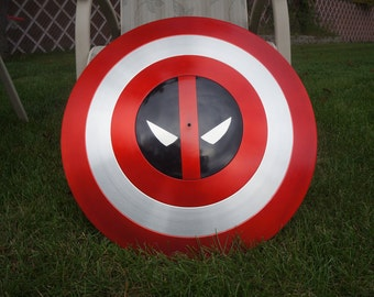 Aluminum Deadpool Shield